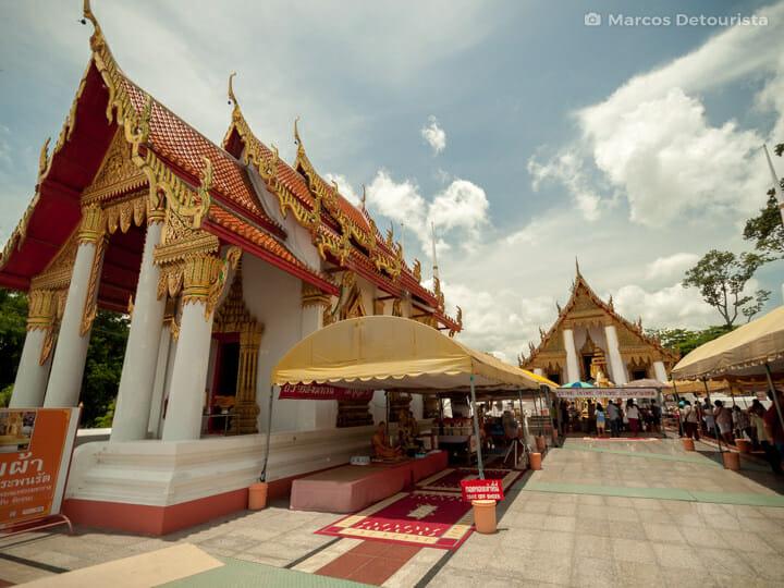 Wat Kasatrathirat Worawihan in Ayutthaya, Thailand
