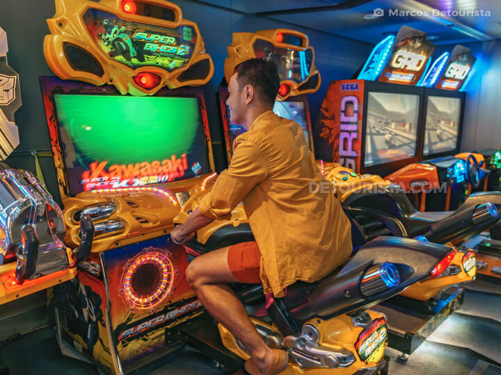 Arcade Room - Quantum of the Seas by Royal Caribbean