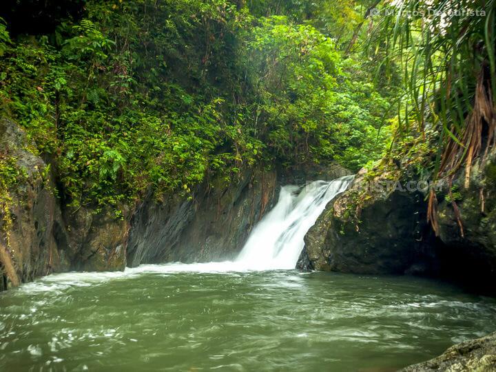 Bonton Falls in Puerto Princesa, Palawan, Philippines