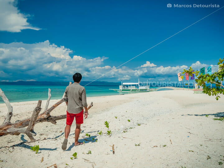 Kalanggaman Island in Palompon, Leyte, Philippines