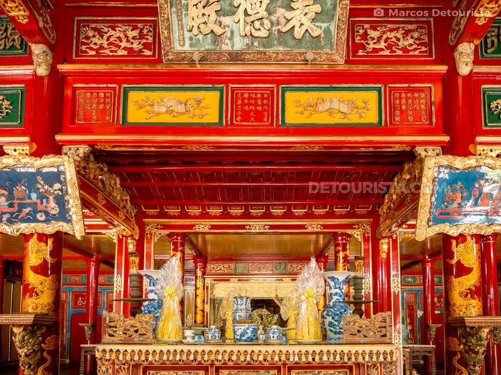 Lang Thieu Tri (tomb) in Hue, Vietnam