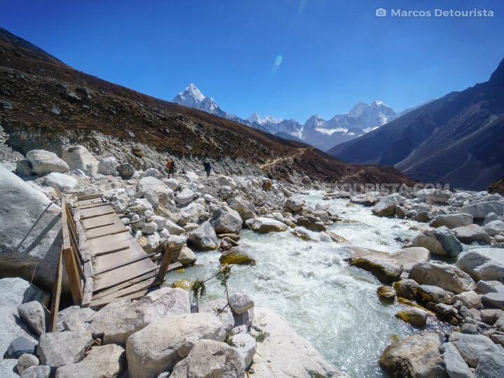 River crossing near Dughla