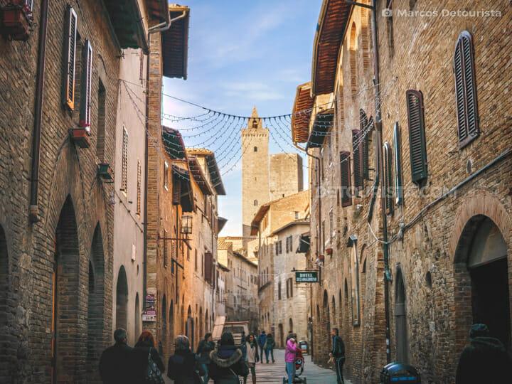 San Gimignano historical centre