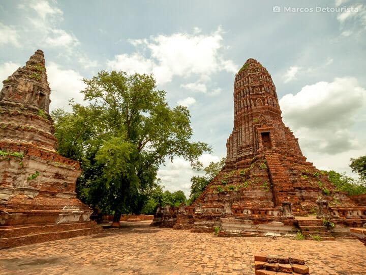 Wat Pakkran in Ayutthaya, Thailand
