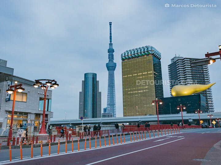 Asakusa District & Tokyo Skytree