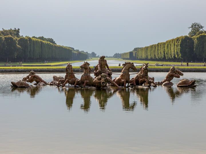 Gardens of Versailles, near Paris