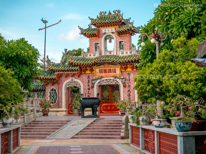 Inner gate at Fujian Assembly Hall (Phuoc Kien)