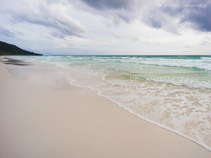 Koh Rong-Long Beach