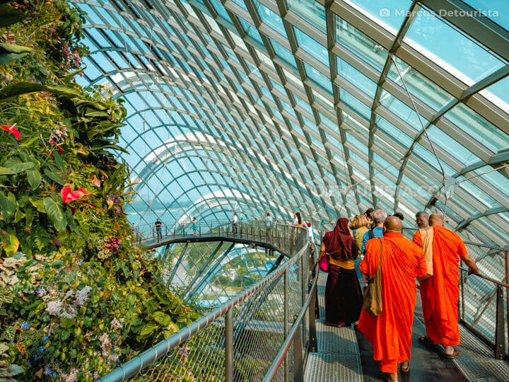 Monks at Gardens By The Bay