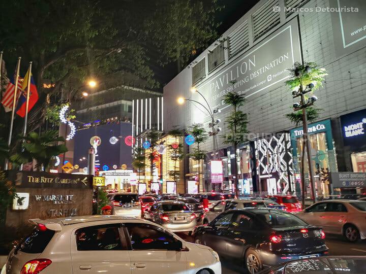 Pavillion Mall in Bukit Bintang, Kuala Lumrpur, Malaysia