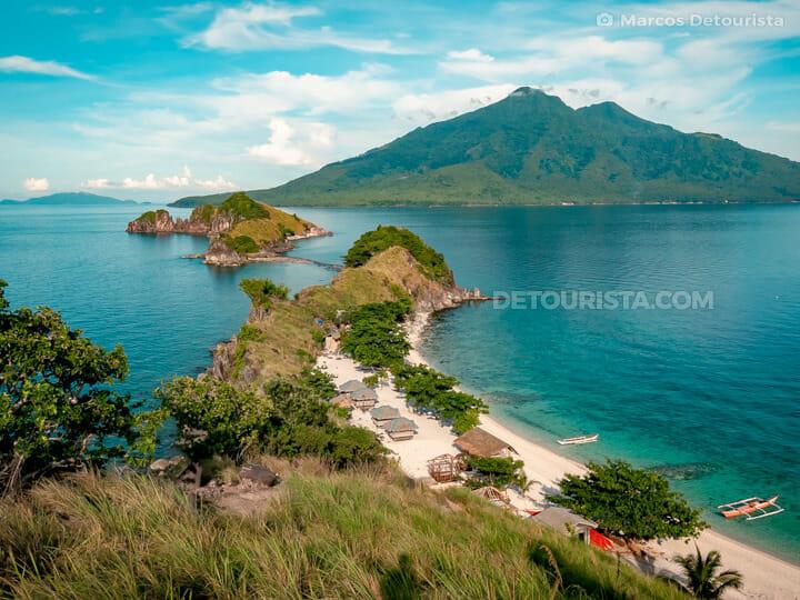 Sambawan Island in Maripipi, Biliran, Philippines