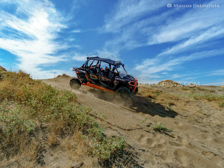 Sand dunes 4x4 adventure at Narvacan Outdoor Adventure Hub (NOAH