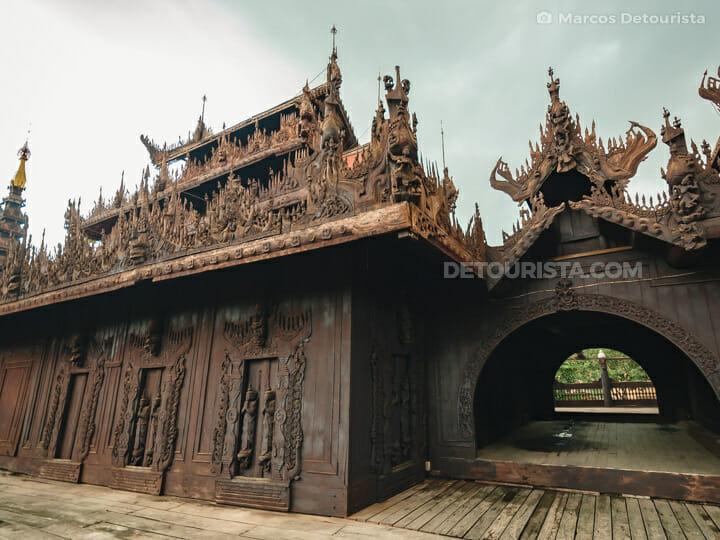 Shwe In Bin (Wooden Teak) Monastery, Mandalay