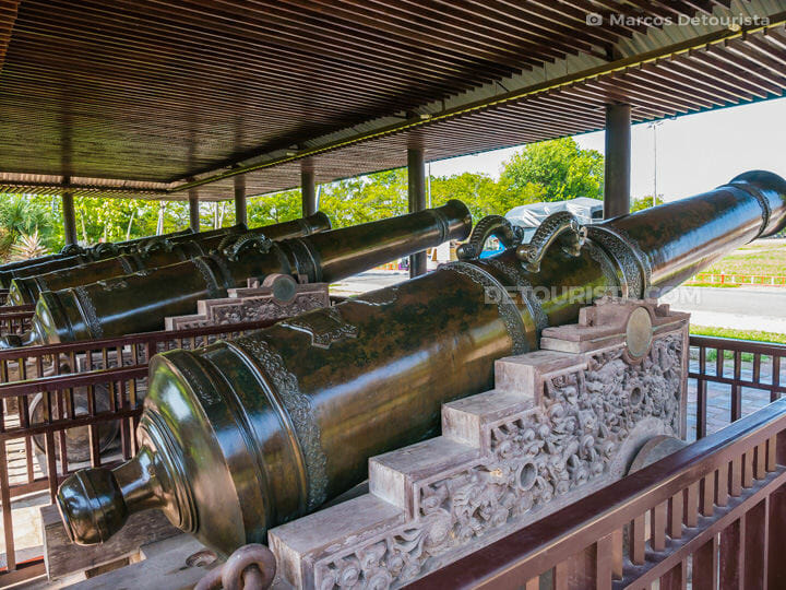 Holy Cannons at Hue Imperial City