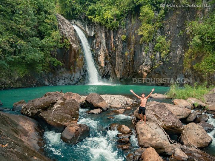 Tinago Falls in Caibiran, Biliran, Philippines