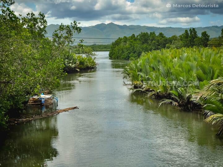 Abatan River in Cortes, Bohol, Philippines