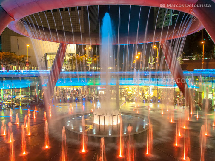 Fountain of Wealth, in Suntec City Mall, Singapore