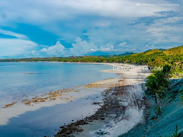 Jawili Beach, in Tangalan, Aklan, Philippines