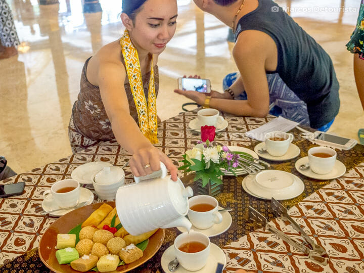 Royal Tea Ceremony & Heritage Tour at Royal Ambarrukmo, in Yogya