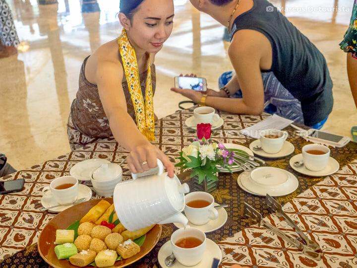 Royal Tea Ceremony & Heritage Tour at Royal Ambarrukmo, in Yogya