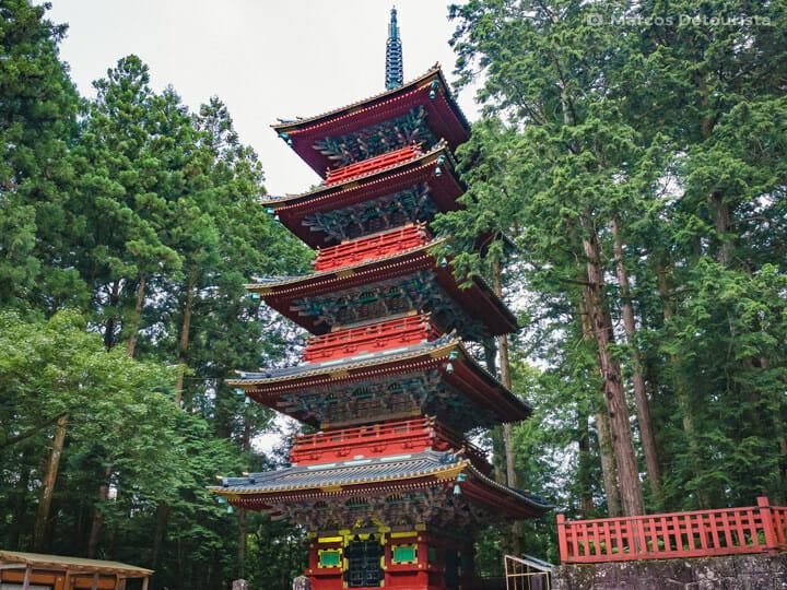 Five-Story Pagoda (Toshogu Gojunoto), Nikko