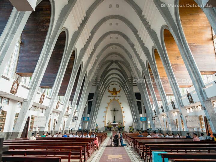 Phu Cam Church in Hue, Vietnam