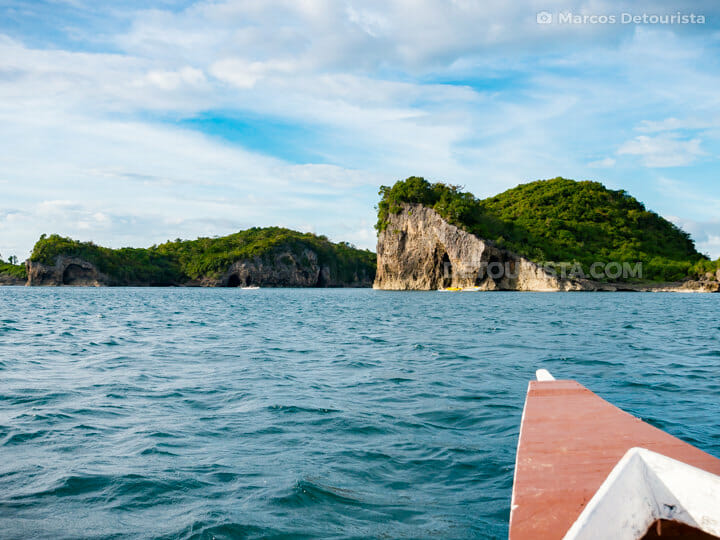 Rock formations and rocky coastline