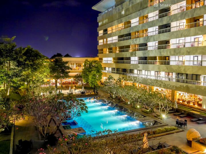 Royal Ambarrukmo Hotel in Yogyakarta, Indonesia