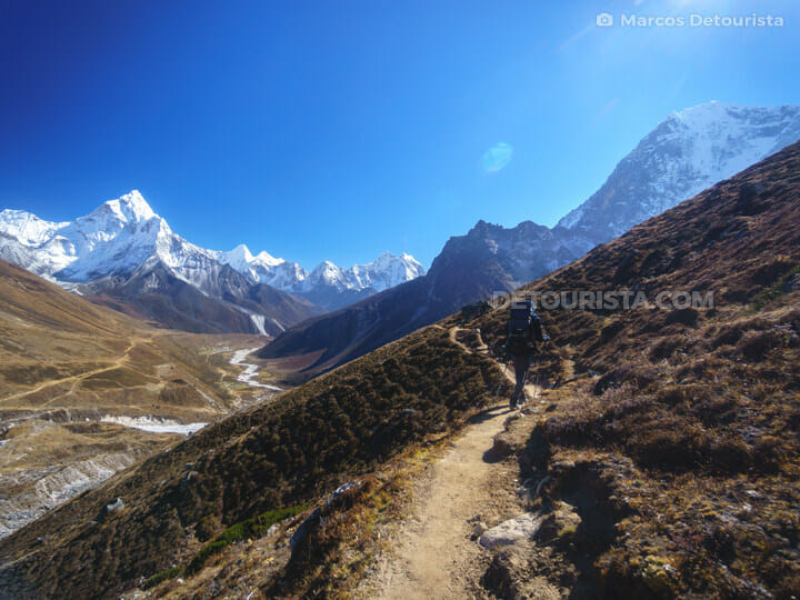 To Dzongla from Lobuche