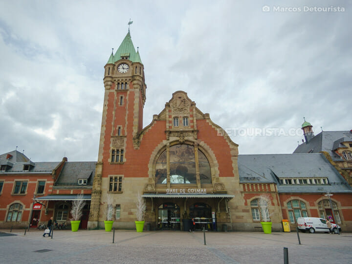 Colmar train station, France