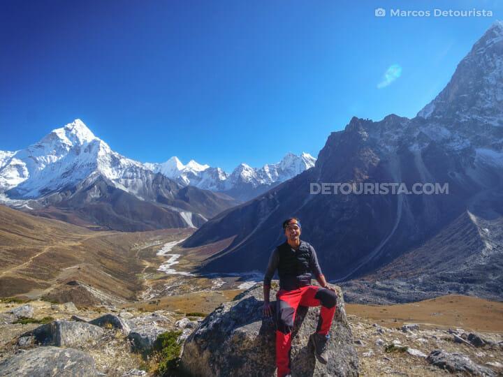 To Dzongla from Lobuche