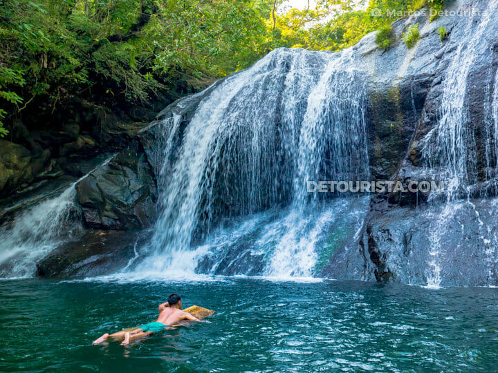 Marcos at Igpasungaw Falls