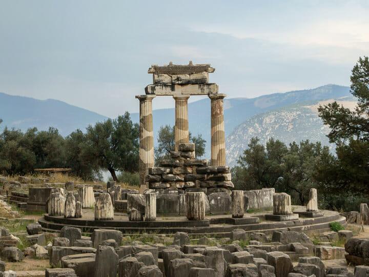 Tholos of Delphi, Greece