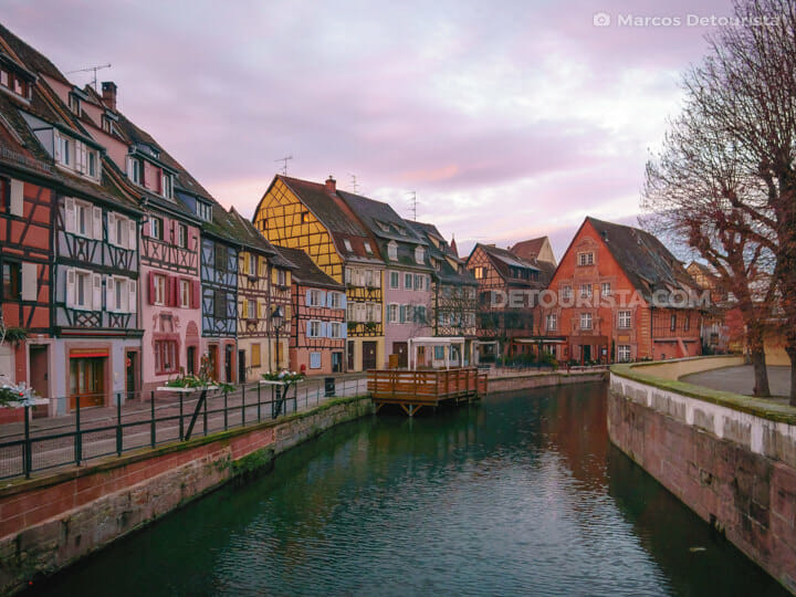 Little Venice, in Colmar, France