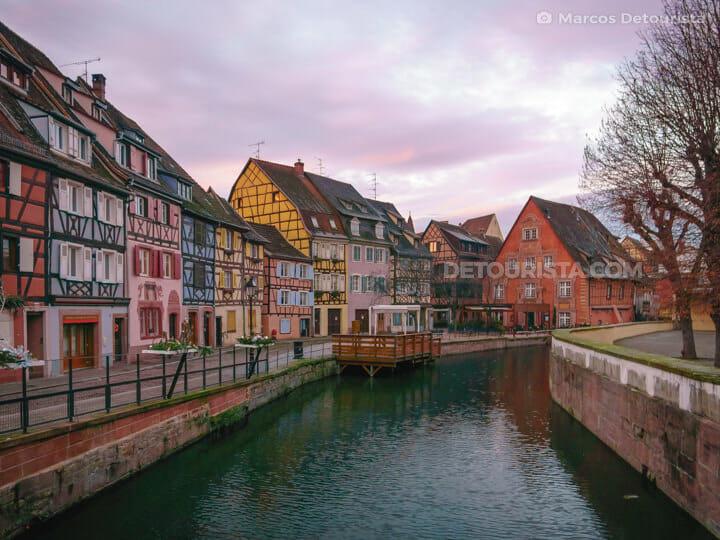 Little Venice, in Colmar, France