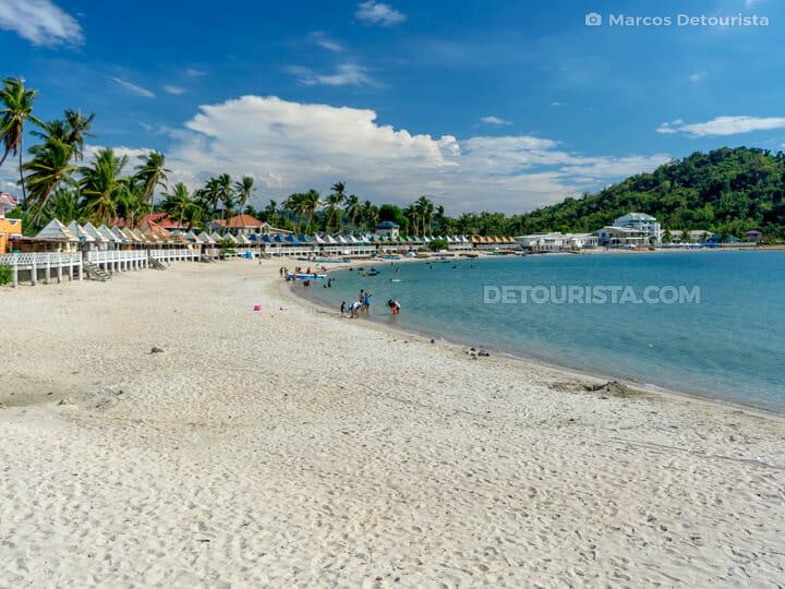 Sabangan Beach in Santiago, Ilocos Sur, Philippines