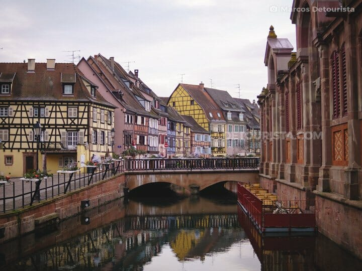 Colmar Canal and Little Venice, in Colmar