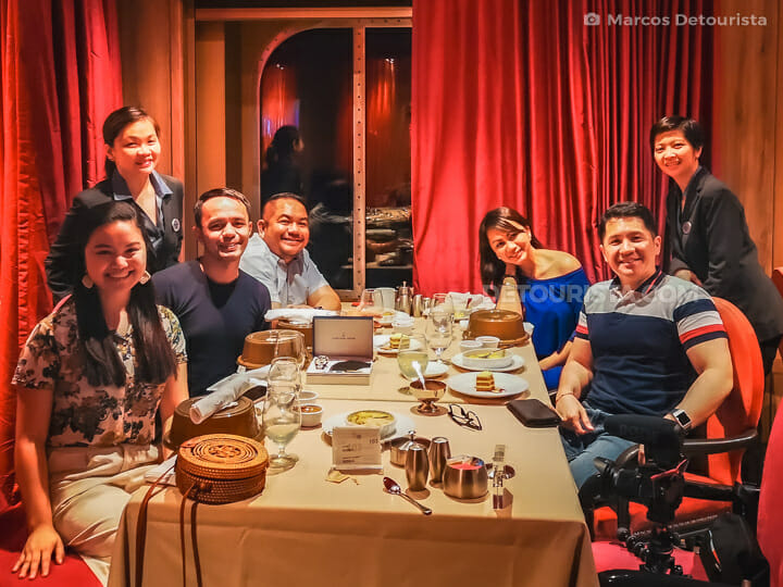 Marcos' birthday dinner - Quantum of the Seas by Royal Caribbean