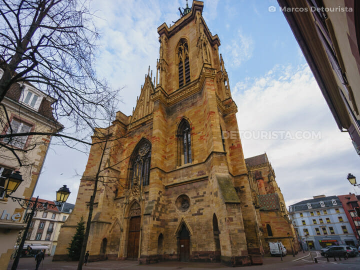 St. Martin's Church (Eglise Saint Martin), in Colmar, France