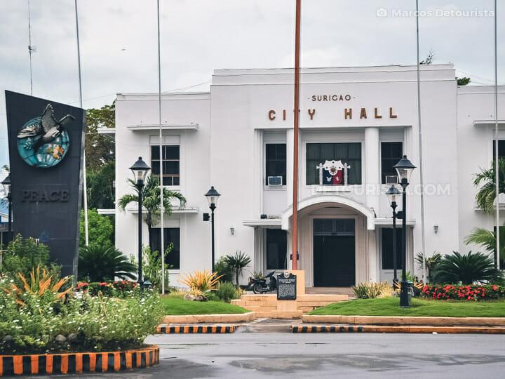 Surigao City Hall, Surigao del Norte