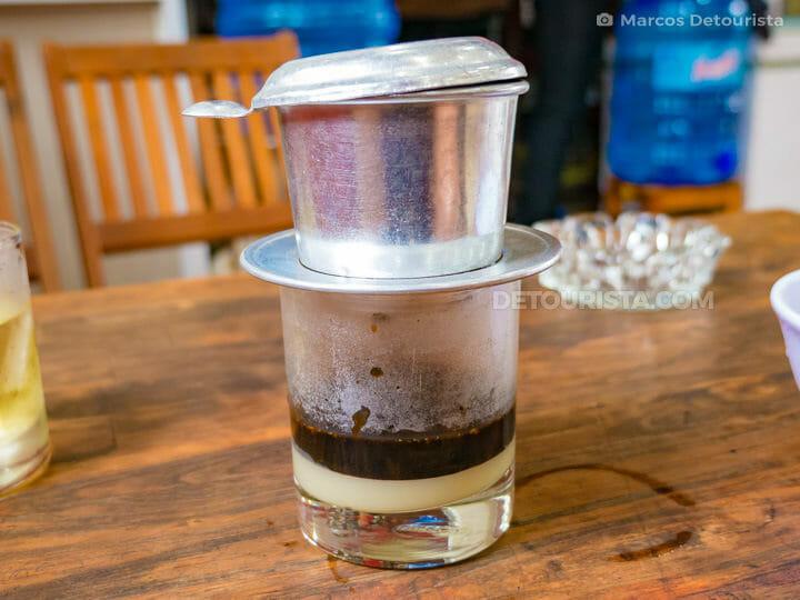 Viet Coffee (Ca Phe Viet) in 38 Tran Cao Van, Hue, Vietnam
