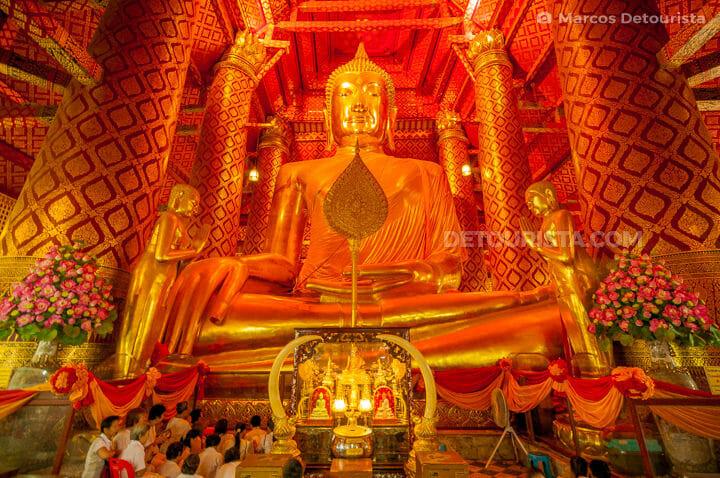 Ayutthaya Giant Sitting Buddha
