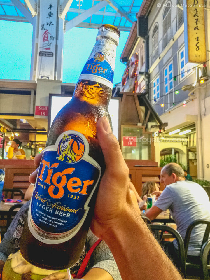 Chintatown - Tiger Beer, in Singapore