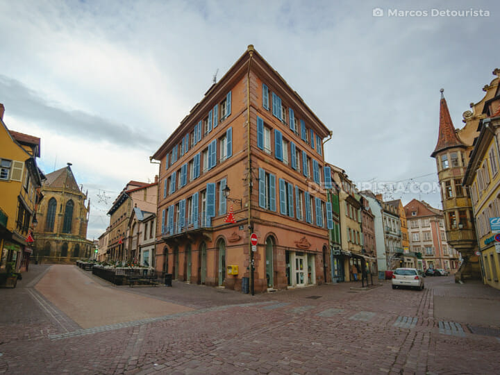 Colmar Old Town, in France