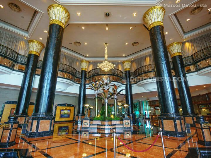 Sunway Resort and Spa lobby, near Kuala Lumrpur, Malaysia