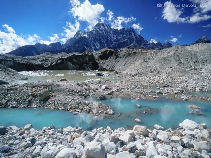 To Gokyo Lakes from Cho La Pass