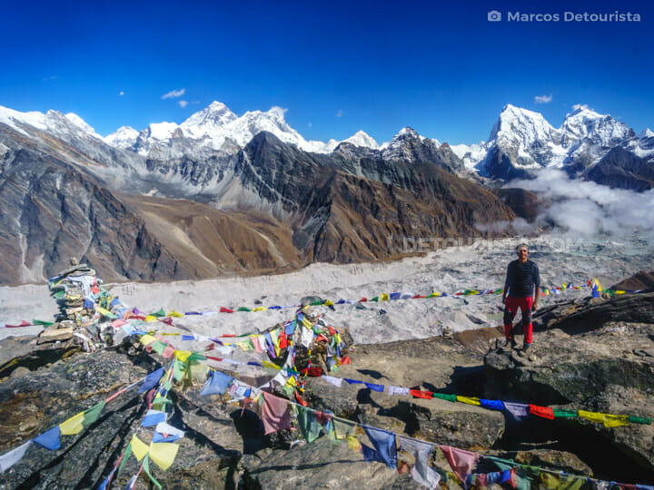 Gokyo Ri view of Mount Everest