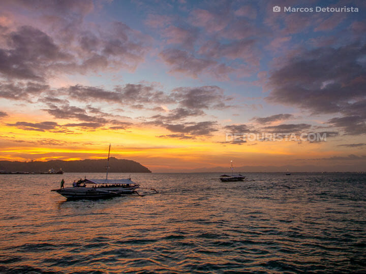 Iloilo Strait Sunset