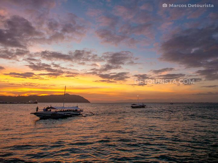 Iloilo Strait Sunset