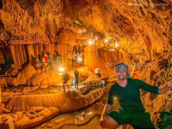 Marcos at Sumaguing Cave, Sagada